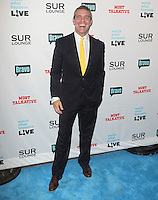 Andy Cohen.Bravo's Andy Cohen's Book Release Party For &quot;Most Talkative: Stories From The Front Lines Of Pop Held at SUR Lounge, West Hollywood, California, USA..May 14th, 2012.full length black suit yellow tie .CAP/ADM/KB.&copy;Kevan Brooks/AdMedia/Capital Pictures.