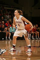 19 January 2006: Clare Bodensteiner during Stanford's win over the University of California Golden Bears at Maples Pavilion in Stanford, CA.