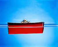 BUOYANCY: BOAT FILLED WITH BEANS (2 of 5)<br />