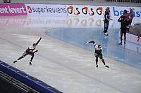 SPEEDSKATING: SOCHI: Adler Arena, 24-03-2013, Essent ISU World Championship Single Distances, Day 4, 500m Men, Gilmore Junio (CAN), Jamie Gregg (CAN), © Martin de Jong