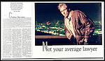 Corbin Burson at his property in the Hollywood Hills by the pool on a cool evening. Star of TV series LA Law. Philadelphis Inquirer Sunday Magazine.