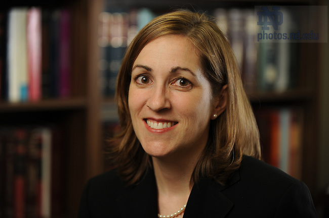 Law School Professor Tricia Bellia..Photo by Matt Cashore/University of Notre Dame