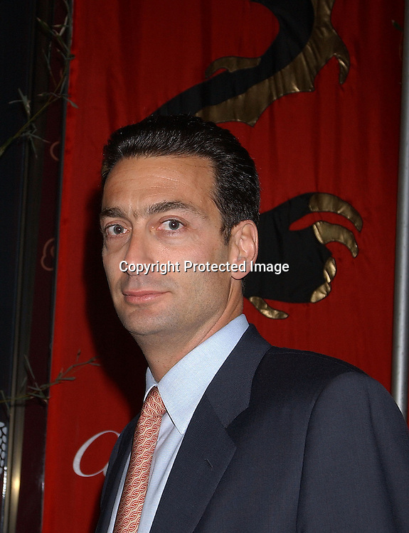 MATTHEW BRONFMAN                         . ARRIVING AT THE .CARTIER MANSION FOR THE LAUNCH OF LE BAISER du .DRAGON ON MAY 6,2003..PHOTO BY ROBIN PLATZER,TWIN IMAGES
