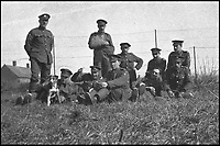 BNPS.co.uk (01202 558833)<br /> Pic: PoppylandPublishing/BNPS<br /> <br /> The Army Ordnance Corps resting between actions.<br /> <br /> Left to gather dust in a darkened attic for decades, they are the diaries and secret photos documenting the hell and horrors of the battlefields of the First World War.<br /> <br /> It wasn't until Heather Brodie had a clear out that the unknown but remarkable archive kept by her late father, Sergeant Horace Reginald Stanley, came to light.<br /> <br /> His emotive diary and remarkable images taken with a camera he smuggled into the trenches paint a harrowing picture of life on the front line at Ypres and The Somme.<br /> <br /> He wrote of how he witnessed comrades next to killed by German shelling and described the hopelessness and terror one felt as the men waited for their turn to be hit.<br /> <br /> His writings were even more poignant as his elder brother Frederick was killed after his dugout suffered a direct hit near Arras.