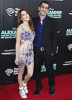 HOLLYWOOD, LOS ANGELES, CA, USA - OCTOBER 06: Dani Thorne arrives at the World Premiere Of Disney's 'Alexander And The Terrible, Horrible, No Good, Very Bad Day' held at the El Capitan Theatre on October 6, 2014 in Hollywood, Los Angeles, California, United States. (Photo by Xavier Collin/Celebrity Monitor)