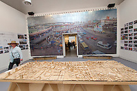 Venice, Italy - 15th Architecture Biennale 2016, &quot;Reporting from the Front&quot;.<br /> International Pavilion.<br /> Andrew Makin and Aside Etafuleni in South Africa. The transformation of Warwick Triangle from the most dangerous into the most lively part of Durban.