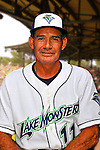 24 June 2008: Vermont Lake Monsters Manager Ramon Aviles. Baseball Card Image for 2008. For in-house use by the Vermont Lake Monsters Only. Editorial or other use of images by other publications or media outlets must secure licensing from the photographer Ed Wolfstein prior to publication, and is based on standards of circulation, and placement in a given publication...Mandatory Credit: Ed Wolfstein.