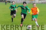 Chase On<br /> -------------<br /> Sean Tyeyvanet, Kerry U12 races for possession against Limerick County player Callum Murphy, when the sides met at Christy Leahy Park last Sunday afternoon.