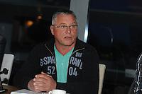SPORTEN: FRYSLAN: Fierljeppen, Voorzitter Jouke Jansma, FLB vergadering Westhem, 15-04-2013, ©foto Martin de Jong