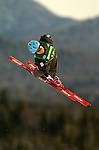16 January 2005 - Lake Placid, New York, USA - Kayo Henmi representing Japan, competes in the FIS World Cup Ladies' Aerial acrobatic competition, ranking 27th for the day, at the MacKenzie-Intervale Ski Jumping Complex, in Lake Placid, NY. ..Mandatory Credit: Ed Wolfstein Photo.