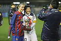 Shinobu Ohno (Leonessa), FEBRUARY 2, 2012 - Football / Soccer : Charity match between FC Barcelona Femenino 1-1 INAC Kobe Leonessa at Mini Estadi stadium in Barcelona, Spain. (Photo by D.Nakashima/AFLO) [2336]