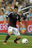 Rapids defender Kosuke Kimura (27) in action..Sporting Kansas City defeated Colorado Rapids 2-0 in Open Cup play at LIVESTRONG Sporting Park, Kansas City, Kansas.