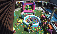 HOUSEMATES DURING THE 'PARTY ANIMALS' TASK.in Big Brother, Day 50.full length balls pool .*Filmstill - Editorial Use Only*.CAP/NFS.Supplied by Capital Pictures.