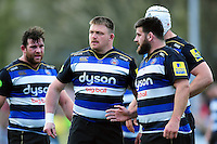 David Wilson of Bath Rugby looks on. Aviva Premiership match, between Bath Rugby and Sale Sharks on April 23, 2016 at the Recreation Ground in Bath, England. Photo by: Patrick Khachfe / Onside Images