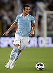 Calcio, Serie A: Lazio vs Genoa. Roma, stadio Olimpico, 23 settembre 2012..Lazio defender Lionel Scaloni, of Argentina, in action during the Italian Serie A football match between Lazio and Genoa at Rome's Olympic stadium, 23 September 2012..UPDATE IMAGES PRESS/Riccardo De Luca