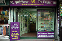 INDIA (West Bengal - Darjeeling) June 2007, Tea Emporium one of the oldest Tea exporters in Darjeeling. Darjeeling produces the best quality black tea in the world. Arindam Mukherjee