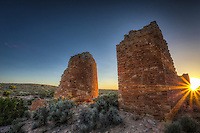 Hovenweep Castle Sunburst - Utah - Hovenweep National Monument