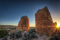 Hovenweep Castle Sunburst - Utah - Hovenweep National Monument