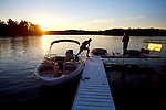 &amp;#xA;The end of another summer day of boating in Northern, Wisconsin.