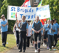 Primary schools torch relay