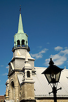 Notre-Dame-de-Bon-Secours Chapel in Old Montreal, Quebec, Canada