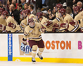 Steven Whitney (BC - 21) - The Boston College Eagles defeated the Northeastern University Huskies 6-3 on Monday, February 11, 2013, at TD Garden in Boston, Massachusetts.