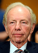 Former United States Senator Joe Lieberman (Independent Democrat of Connecticut) appears at the US Senate Committee on Health, Education, Labor and Pensions hearing  considering the confirmation of Betsy DeVos of Grand Rapids, Michigan to be US Secretary of Education on Capitol Hill in Washington, DC on Tuesday, January 17, 2017.<br /> Credit: Ron Sachs / CNP