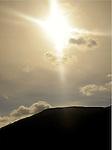 Sun Cross Graces Montana Hillside