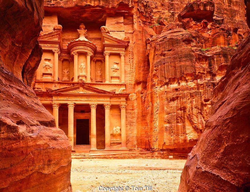 The Treasury (AlKhazneh), Two Thousand Year Old Nabataean City, Petra National Park, Jordon