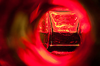 """Beauty at the Bottom: Tequila 12"" - This is a photograph of a tequila bottle, shot right down inside the mouth of the bottle."
