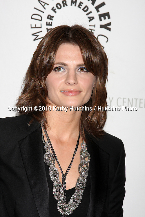 "Stana Katic.arrives at the ""An Evening With Castle""  .Paley Center For Media.Los Angeles, CA.March 16, 2010.©2010 Kathy Hutchins / Hutchins Photo...."