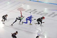 SCHAATSEN: HEERENVEEN: IJsstadion Thialf, 06-12-2016, ISU World Cup-training, Team Italia, ©foto Martin de Jong