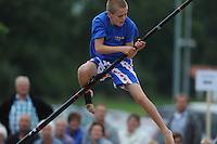FIERLJEPPEN: IJST: 09-08-2013, Fries Kampioenschap Jeugd, ©foto Martin de Jong