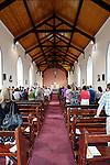Caulfields during mass at Saint Patrick's Church in Granlahan, County Roscommon, Ireland on Tuesday, June 25th 2013. (Photo by Brian Garfinkel)