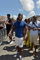 MIAMI, FL - JULY 25: Ace Hood attends the 'Suicide Squad' Wynwood Block Party and Mural Reveal with cast on July 25, 2016 in Miami, Florida.  Credit: MPI10 / MediaPunch