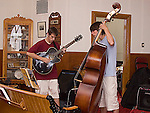 Jazz musicians Lucas Haneman and Alex Mastionardi