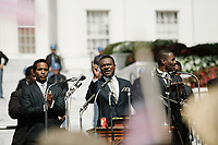 Selma (2014) <br /> Andr&eacute; Holland plays Andrew Young, David Oyelowo plays Dr. Martin Luther King, Jr., and Colman Domingo plays Ralph Abernathy<br /> *Filmstill - Editorial Use Only*<br /> CAP/KFS<br /> Image supplied by Capital Pictures