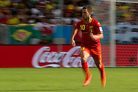 motion blur of Eden Hazard of Belgium