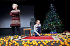 Belarus Free Theatre<br /> Time of Women by Nicolai Khalezin and Natalia Kaliada<br /> at The Young Vic Theatre, London, Great Britain <br /> press photocall <br /> 9th November 2015 <br /> <br /> <br /> Maryna Yurevich<br /> <br /> Maryia Sazonava<br /> <br /> <br /> <br /> Photograph by Elliott Franks <br /> Image licensed to Elliott Franks Photography Services