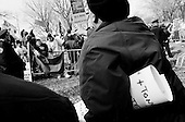 New York, New York<br /> USA<br /> March 19, 2005<br /> <br /> Anti-war demonstrators protest in New York's Central Park protesting the second anniversary of the War on Iraq March 19, 2005.