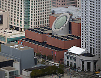 aerial photograph San Francisco Museum of Modern Art SFMOMA SOMA San Francisco, California