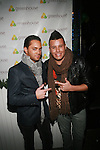 Michael Tavarez and Johnny Donovan Attend GREENHOUSE Hosts Three Year Anniversary Party With Special Guest DJ Set By Taryn Manning, NY   11/10/11