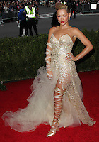 """NEW YORK CITY, NY, USA - MAY 05: Rita Ora at the """"Charles James: Beyond Fashion"""" Costume Institute Gala held at the Metropolitan Museum of Art on May 5, 2014 in New York City, New York, United States. (Photo by Xavier Collin/Celebrity Monitor)"""