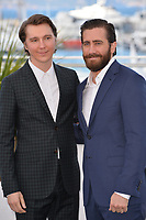 Paul Dano &amp; Jake Gyllenhaal at the photocall for &quot;Okja&quot; at the 70th Festival de Cannes, Cannes, France. 19 May 2017<br /> Picture: Paul Smith/Featureflash/SilverHub 0208 004 5359 sales@silverhubmedia.com