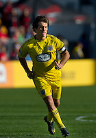 October 16 2010  Columbus Crew midfielder/forward Guillermo Barros Schelotto #7 in action during a game between the Columbus Crew and Toronto FC at BMO Field in Toronto..The final score was a 2-2 draw.