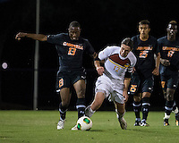 The Winthrop University Eagles lose 2-1 in a Big South contest against the Campbell University Camels.  Adam Brundle (12), Ben Iiames (13)