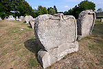 Early 19th century grave stone of the  Balatonudvari cemetary - Balaton Hungary