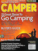 Camper Magazine Cover<br />