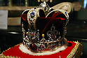 May 12, 2010 - Tokyo, Japan - King of Pop's crown is on display at the 'Michael Jackson - The official Lifetime Collection' exhibition, in a hall at the foot of Tokyo Tower, Tokyo, Japan, on May 12, 2010. More than 280 items of Michael Jackson memorabilia including crystal-studded gloves and favorite 1967 Rolls Royce are on display until July 4.  (c) MICHAEL JACKSON ESTATE
