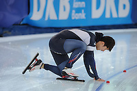 SPEED SKATING: STAVANGER: Sørmarka Arena, 31-01-2016, ISU World Cup, 1000m Men Division A, Jin-Su Kim (KOR), ©photo Martin de Jong